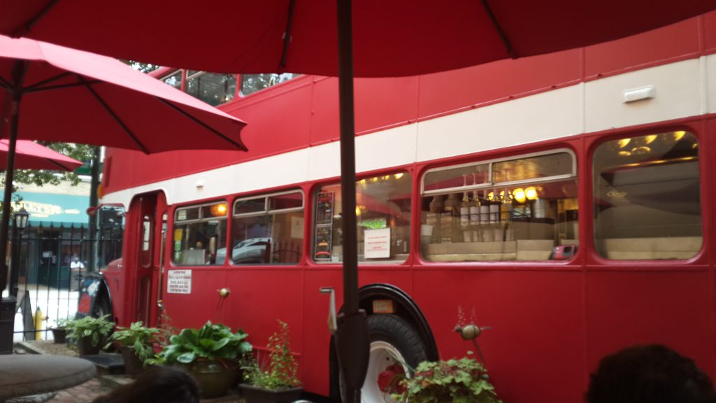 The best coffee bus in Asheville!