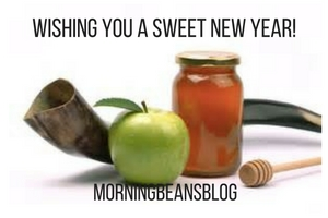 From all of us to all of you -if you're celebrating,  may the New Year be sweet, healthy, happy and mindful.