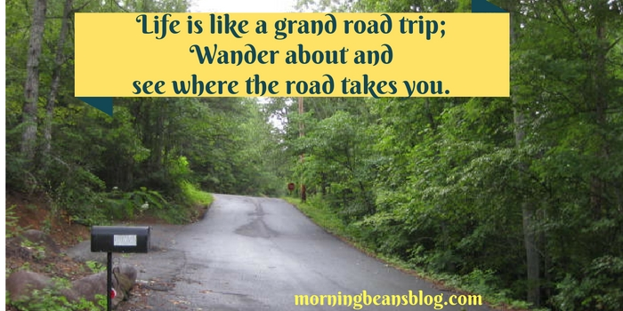 Wander life as you would a road trip.