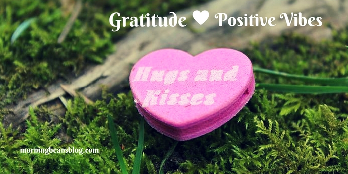 Gratitude reminds us that life is more than just the here and now. Be positive, mindful and kind.