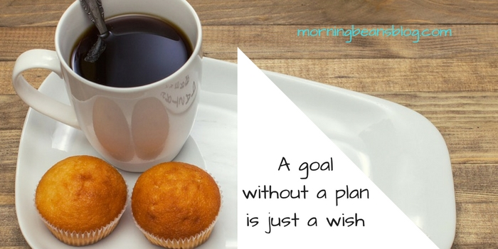 Think about your goals and intentions - no list necessary, but do have a plan of action in mind.