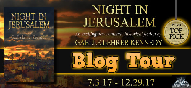 Article image Night in Jerusalem by Gaelle Lehrer Kennedy